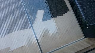 マンション共有部分の床 高圧洗浄